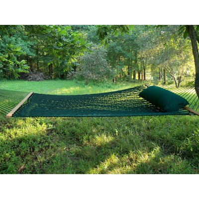 Olefin Rope Tree Hammock Color: Green