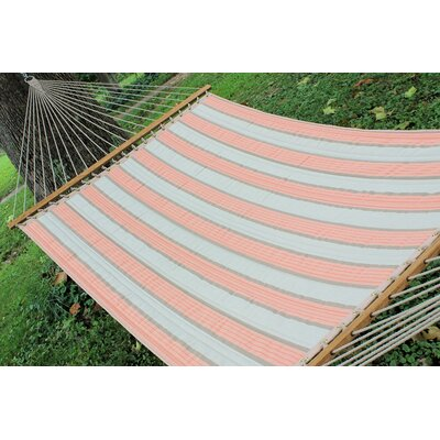 Sunbrella Quilted Tree Hammock Color: Rose Cameo