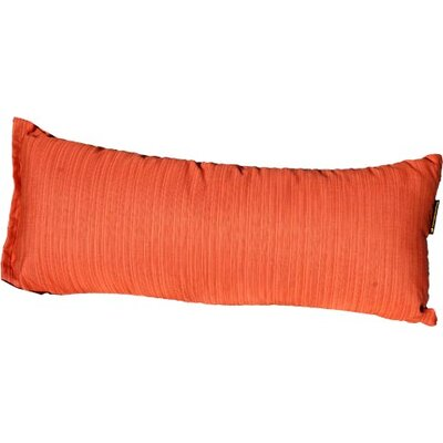 Sunbrella Hammock Outdoor Lumbar Pillow Color: Papaya