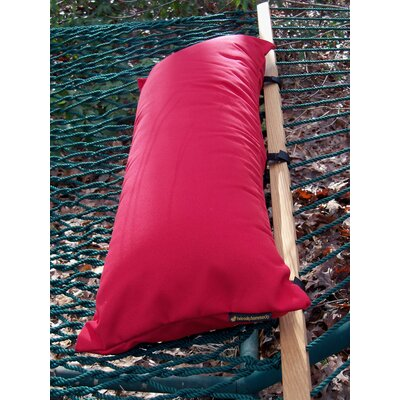 Sunbrella Hammock Outdoor Lumbar Pillow Color: Red