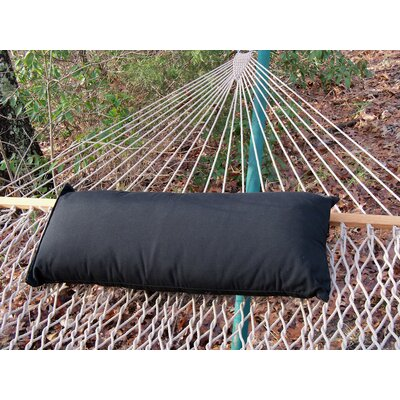 Sunbrella Hammock Outdoor Lumbar Pillow Color: Black