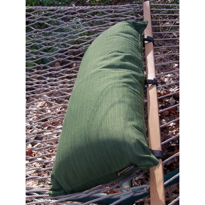 Sunbrella Hammock Outdoor Bolster Pillow Color: Palm