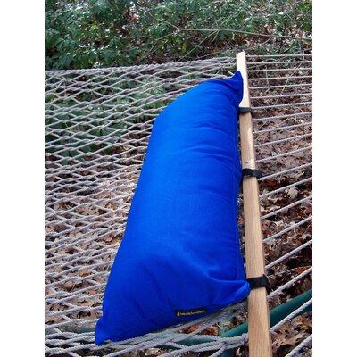 Sunbrella Hammock Outdoor Bolster Pillow Color: Pacific Blue