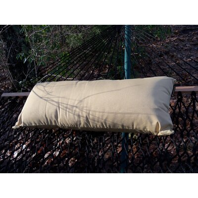 Sunbrella Hammock Outdoor Lumbar Pillow Color: Wheat