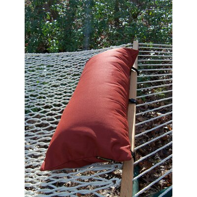 Sunbrella Hammock Outdoor Lumbar Pillow Color: Terra