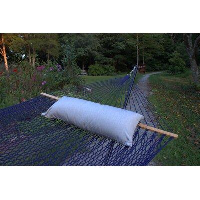 Sunbrella Hammock Outdoor Bolster Pillow Color: Granite