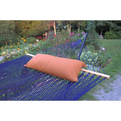 Sunbrella Hammock Outdoor Lumbar Pillow Color: Nutmeg