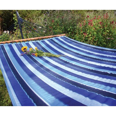 Sunbrella Quilted Tree Hammock Color: Cobalt