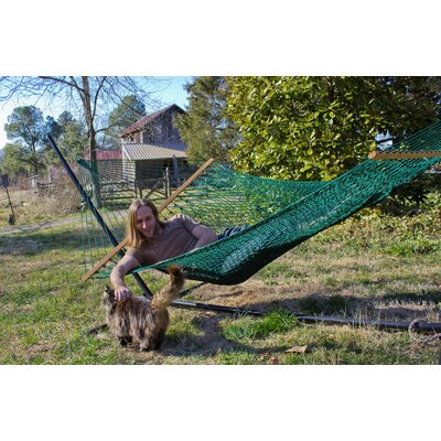 Silkspun Tree Hammock Color: Spruce