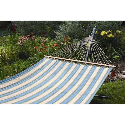 Sunbrella Quilted Tree Hammock Color: Rainforest