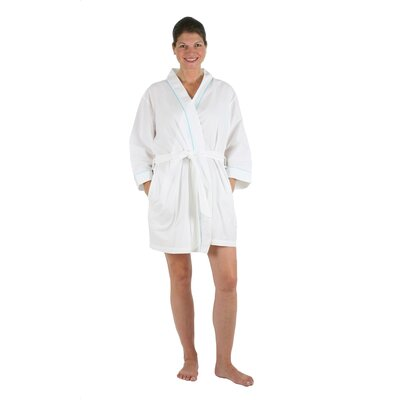 Pippa Bathrobe Size: Small/Medium, Color: Aqua