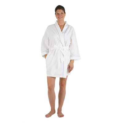 Pippa Bathrobe Size: Medium/Large, Color: Blue