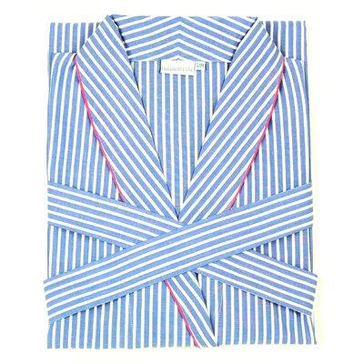 Stripe Bathrobe Size: Small/Medium