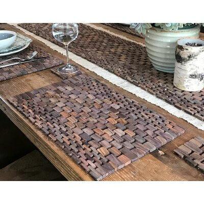 Recycled Teak Placemats Set
