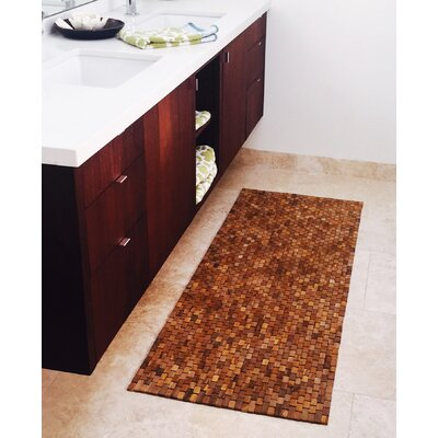 Teak Floor/Bath Runner