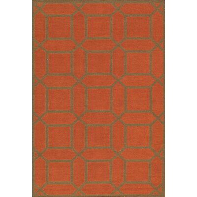 Sahara Orange Area Rug Rug Size: 6 x 9