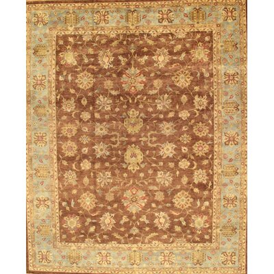 Sultanabad Brown Tribal Rustic Persian  Area Rug