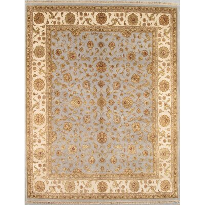 Agra Light Purple/Beige Traditional Persian Area Rug