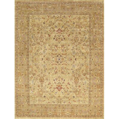 Tabriz Beige Traditional Persian Area Rug