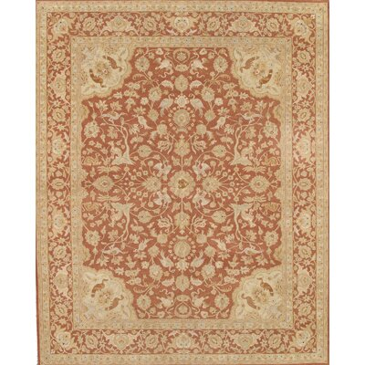 Tabriz Rust Traditional Persian Area Rug