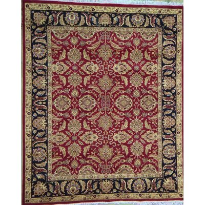 Agra Traditional Lambs Wool Area Rug