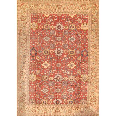 Mahal Traditional Lambs Wool Area Rug