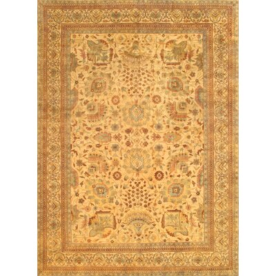 Sultanabad Traditional Lambs Wool Area Rug