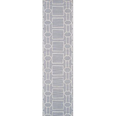 Venice Hand Tufted Transitional Gray Area Rug Rug Size: Runner 26 x 8