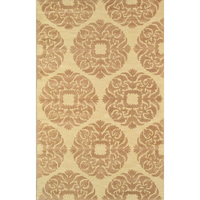 Venice Hand Tufted Transitional Gold Area Rug
