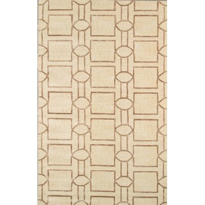 Venice Hand Tufted Transitional Cream Area Rug