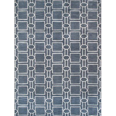 Venice Hand Tufted Transitional Gray Area Rug Rug Size: 4 x 6