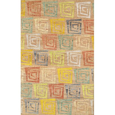 Sumak Vegetable Dye Hemp and Sari Silk Area Rug Rug Size: 5 x 8