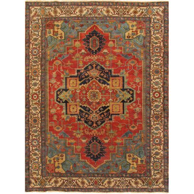 Hand-Knotted Lambs Wool Area Rug
