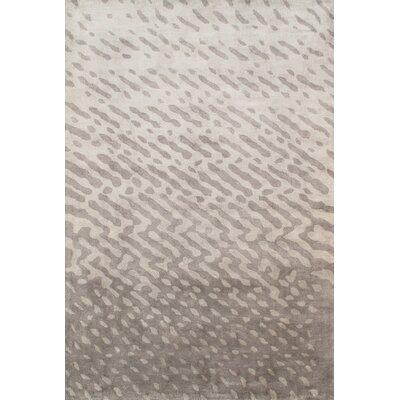 Soho Silk Modern Grey Area Rug Rug Size: 8 x 11