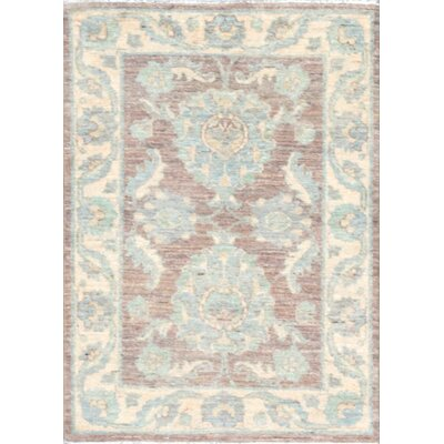 Ferehan Hand-Knotted Brown Area Rug