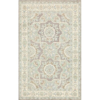 Ferehan Hand-Knotted Gray Area Rug