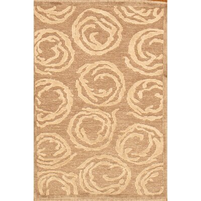 Sumak Hand-Knotted Camel Area Rug