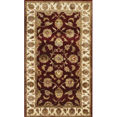 Agra Hand-Knotted Area Rug Rug Size: 211 x 51