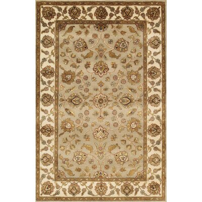 Agra Hand-Knotted Area Rug Size: 4 x 62
