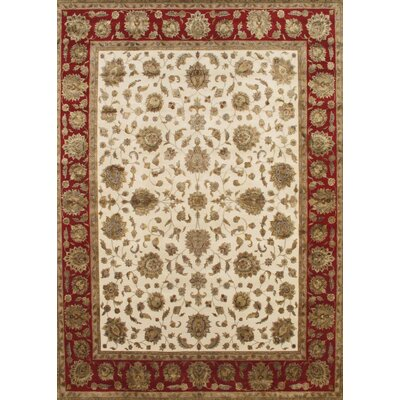 Agra Hand-Knotted Area Rug Rug Size: 10 x 1311