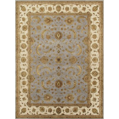 Agra Hand-Knotted Area Rug Rug Size: 6 x 92