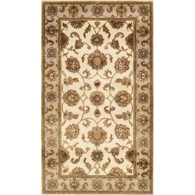 Agra Hand-Knotted Area Rug Rug Size: 3 x 51