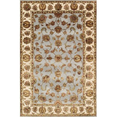 Agra Hand-Knotted Area Rug