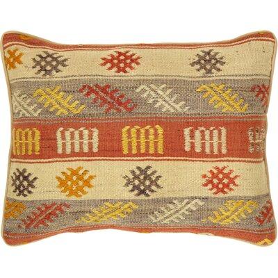 Kilim Decorative Vintage Wool Lumber Pillow