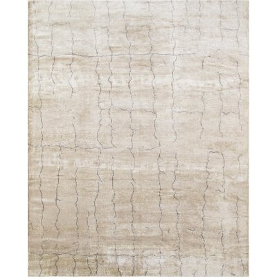 Modern Hand-Knotted Area Rug