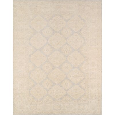 Ferehan Hand-Knotted Light Gray Area Rug