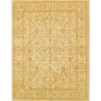 Ferehan Hand-Knotted Peach Area Rug