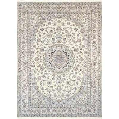 Nain Hand-Knotted Ivory Area Rug