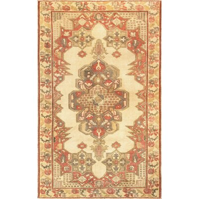 Kysery Hand-Knotted Ivory Area Rug