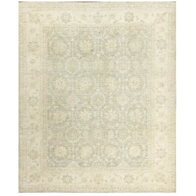 Ferehan Hand-Knotted Ivory Area Rug